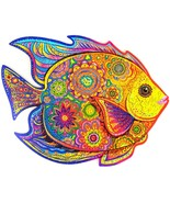"""Unidragon Wooden Jigsaw Puzzles """"Shining Fish"""" Wooden Puzzles Animals - ... - $59.99"""
