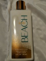 BATH & BODY WORKS AT THE BEACH BODY LOTION CREAM SHEA BUTTER VITAMIN E 8OZ - $9.45