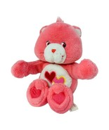 """Care Bears Love A Lot Bear Squeeze Hugging Arms 11"""" Soft Stuffed Animal ... - $15.99"""