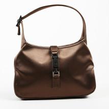 "Gucci Brown Satin ""Mini Jackie"" Shoulder Bag - £105.75 GBP"
