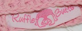 Ruffle Butts Pink Ear Hat With Flower Cotton 0 To 6 Months image 4