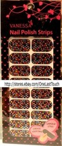 Vanessa 20 Nail Polish Strips/Decals/Stickers MULTI-COLOR Faux Jewels Set NSB-05 - $3.99