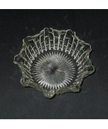 """Stacked Cube Fluted Bowl Whitehall Round Glass Server 8""""X3"""" Free Shippin... - $14.80"""
