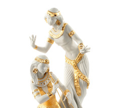 Lladro 8591  DANCERS FROM THE NILE (GOLDEN RE-DECO)   01008591 Women New - $2,596.59