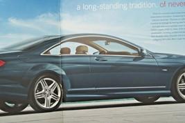 2012 mercedes cl 63 amg cl 550 owners sales brochure w216 cl class cl 600 cl 65 - $15.54