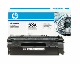 NEW HP Q7553a 53a  Genuine Toner Cartridge P2014 P2015 M2727 M2727nf M27... - $49.49