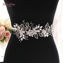 YouLaPan SH282-S Rhinestone Belt  Silver Diamond Belt Womens Dress Belt ... - $24.22