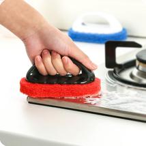 Magic Sponge Handle Brush Bathroom Kitchen Window Cleaner Sink Cleaning ... - $3.00