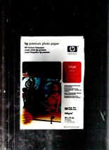 2 PACKS Premium Photo Paper, pack of 20 Glossy, 10 x 15cm Sheets, 240g/m2 - NEW - $10.60