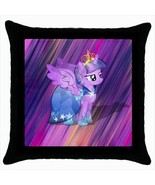Throw pillow case pony with wings  and  crown design unique decoration k... - $19.50