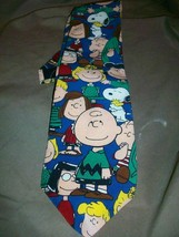 P EAN Uts Charles Schulz Silk Tie Necktie Charlie Brown Need All The Friends I Can - $14.84