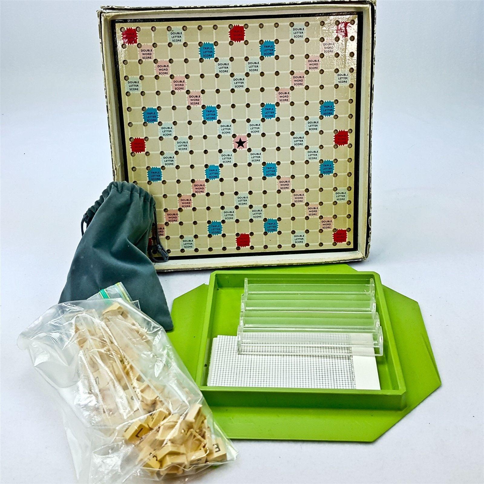 Vintage Travel Scrabble 46