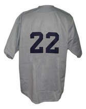 San Diego Padres Pcl Retro Baseball Jersey 1965 Button Down Grey Any Size image 4