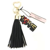 New VICTORIA'S SECRET Runway Love Tassel Keyring Keychain Bag Charm - $24.66