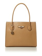 Rare NWT $325 DKNY Pebbled French Grain Leather Classic Tote Work Shoppe... - $175.00