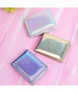 Women Hologram Purse Leather Clutch Wallet Credit Card Business Card Holder - $8.95