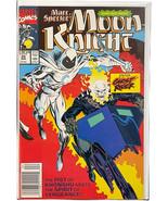Marc Spector Moon Knight #25 1st Ghost Rider Meet-Up 1991 Newsstand Comic - $24.74