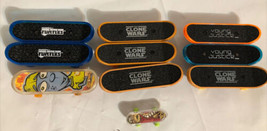 Clone Wars Young Justice Turtles Tech Deck Finger Skateboard Lot 10. - $14.49
