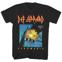 Def Leppard Pyromania Men's T-Shirt Album Cover Tee Metal Rock Explosion... - $20.99+