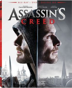 Assassin's Creed (2017) Blu-ray+DVD+Digital