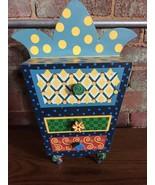 Children Jewelry Box  Alice in Wonderland Mystical Fairy Tale Cosmic Ke... - $19.80