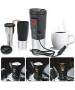 12V 400ml Coffee mug vehicle thermos Heating Temperature Control  Portab... - $52.47
