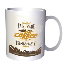 Coffee Fairtrade Original Funny Novelty 11oz Mug b127 - $10.83