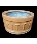 Vintage Kitty Cat Feeding Dish BRETBY STONEWARE Ceramic Bowl Made in Eng... - $37.37