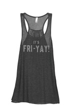 Thread Tank Its FRI-YAY Women's Sleeveless Flowy Racerback Tank Top Char... - $24.99+