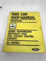 1980 Ford Car shop Manual Mechanic Book Rat Rod Garage Library Service Fomoco 80 - $10.01