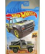 2019 Hot Wheels #64 Baja Blazers 1/10 '87 DODGE D100 Gray Variant w/Gree... - €5,70 EUR