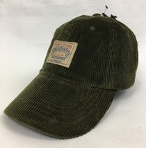 New Polo Ralph LaurenPolo CountryCorduroy Olive Hat Cap Leather Strap ... - $39.55