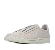 Fred Perry Men's Checkerboard Nubuck Leather Trainers Shoes B1201-254 Po... - $62.97
