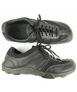 Dr Martens Casual Shoes Sz 10 Black Leather Air Soles - $41.80