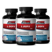 Mood Lift - L-DOPA (Mucuna Pruriens Extract) 350 Mg - Mucuna Bulk - 3 Bottles 18 - $35.89