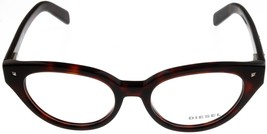 New Diesel Women Eyeglasses Frame Red Havana Cateye DL5057 054  - $88.11