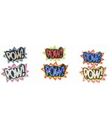 POW Ring New Iced Out One Finger Multi Color Stretch Band Fits All Finge... - $19.84