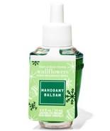 Bath & Body Works Mahogany Balsam Wallflowers Fragrance Refill Bulb NWT - $9.05