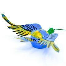 Oaxacan Copal Wood Carving Folk Art Humming Bird Hummingbird Bobble Head Figure image 3