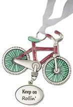 Gnz Life is a Breeze Inspirational Zinc Ornaments -Keep on Rollin' - $7.43