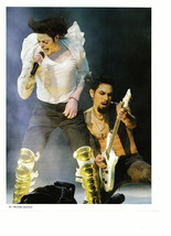 Michael Jackson teen magazine pinup clipping gold knee brace Rockline Bop