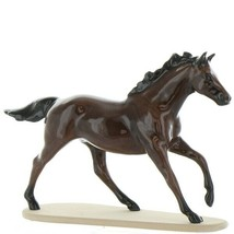 Hagen Renaker Miniature Horse Thoroughbred Race Seabiscuit Ceramic Figurine