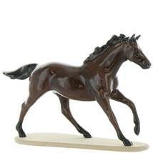 Hagen Renaker Miniature Horse Thoroughbred Race Seabiscuit Ceramic Figurine image 1