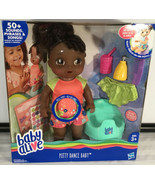 Baby Alive Potty Dance Baby - Black Curly Hair - $69.25