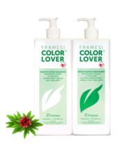 Framesi Smooth Shine Shampoo and Conditioner Liter Duo
