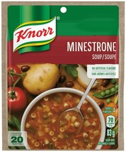 12PACK Knorr Minestrone Soup Mix 83g each -CANADA -FRESH &  DELICIOUS! - $29.65