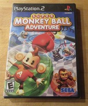 Super Monkey Ball Adventure (Sony PlayStation 2, 2006) Black Label Brand... - $28.66