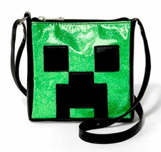 Minecraft Creeper Face Crossbody Bag Purse Video Game JINX J!NX Mojang NWT