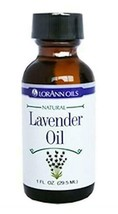 Lorann Hard Candy Flavoring Lavender Oil Flavor 1 Ounce - $12.46