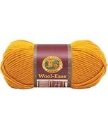 Lion Brand Yarn 620-171 Wool-Ease Yarn, Gold - $6.50